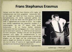 Frans Erasmus